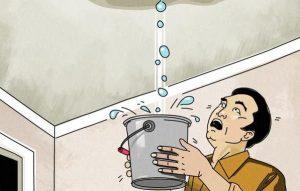 roof leak bucket
